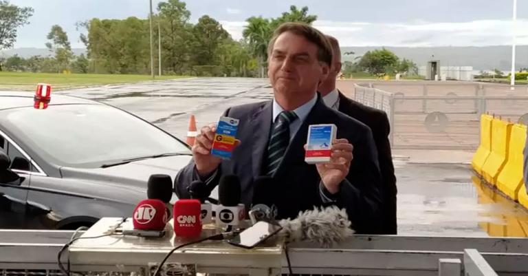 Bolsonaro se agarra à cloroquina para salvar mandato — Conversa Afiada