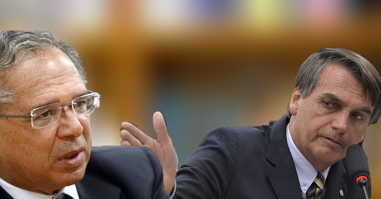 Resultado de imagem para Paulo Guedes e Bolsonaro