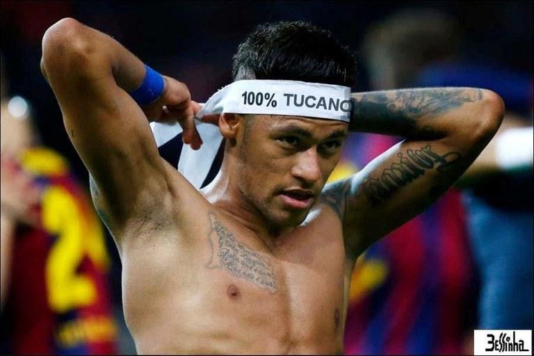 bessinha 100% neymar tucano