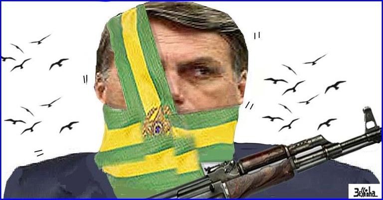 Resultado de imagem para liberação de armas no brasil