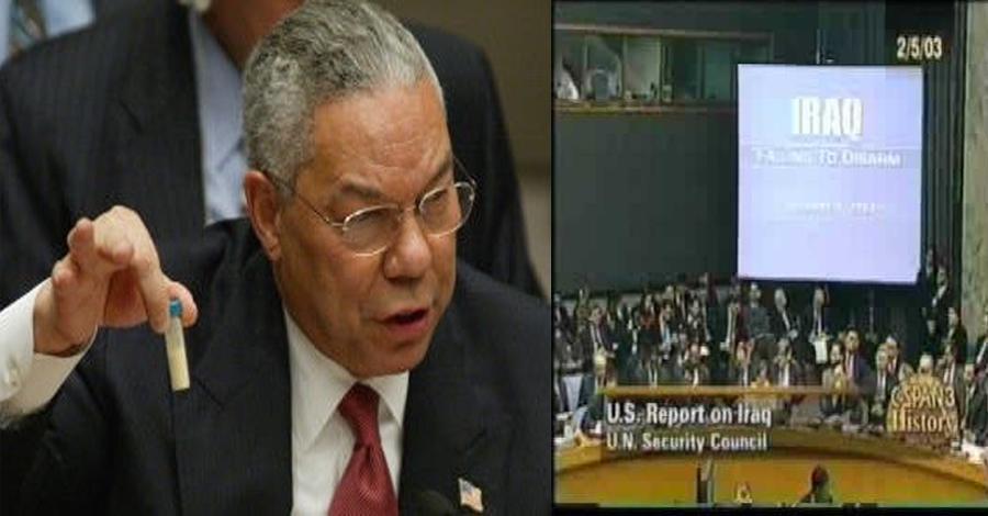 Powell exerce o power