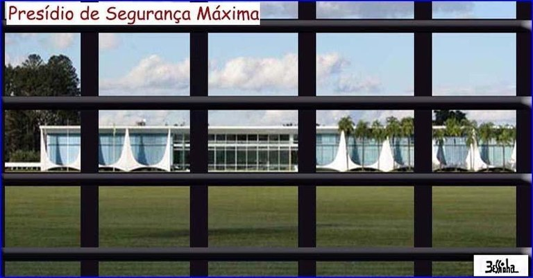 Resultado de imagem para imagens de temer com pé na cadeia