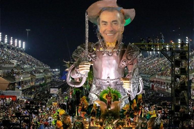brizola no carnaval