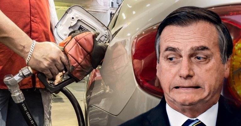 """Bolsonaro se sente """"otário"""", mas otário é quem acredita que gasolina cara é  culpa dos estados — Conversa Afiada"""