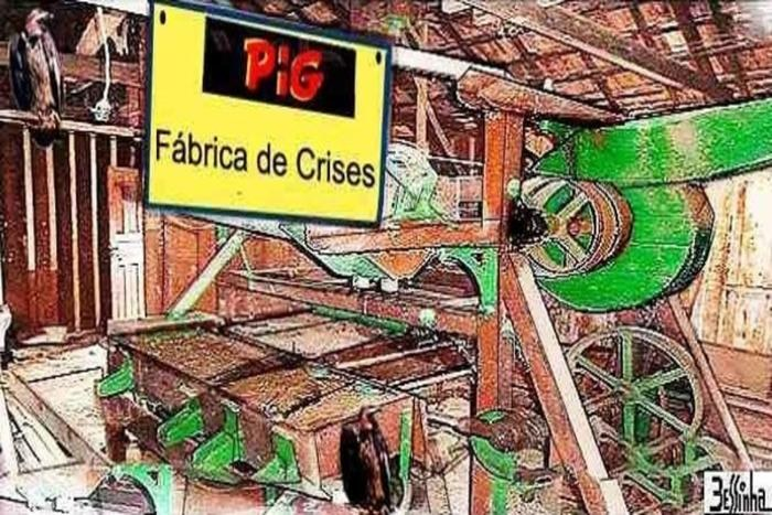 charge bessinha pig crise