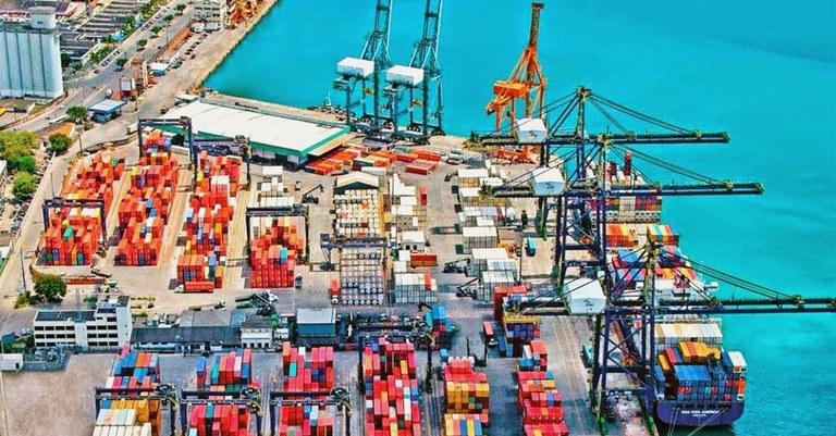 Resultado de imagem para Comércio exterior baiano porto