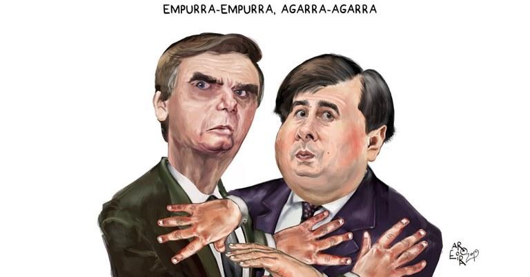 Maia rebate Guedes: o Governo é uma usina de crises! — Conversa Afiada