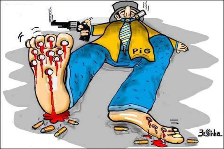 bessinha tiros do pig