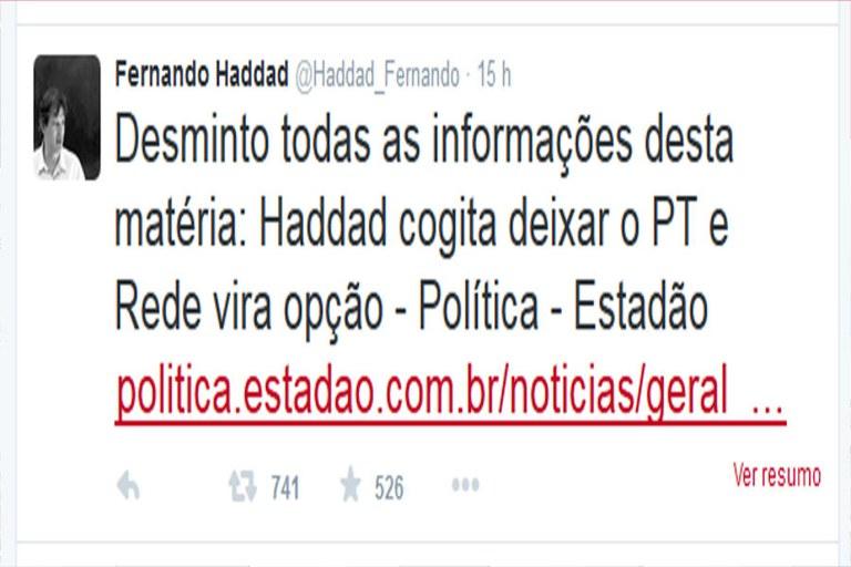 twitter fernando haddad