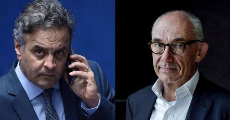Aécio Neves  nomeou presidente da Vale! Explicado o motivo da demora da Justiça Federal em julgar o caso de Mariana