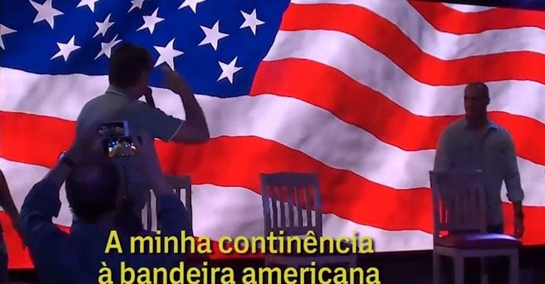 """Resultado de imagem para NOS EUA, JAIR BOLSONARO OFERECE PROMESSAS VAGAS PARA EMPRESÁRIOS E """"CARTA BRANCA PARA A POLÍCIA MATAR"""""""