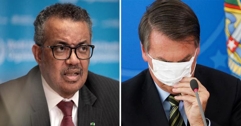 Bolsonaro mente sobre recomendação da OMS — Conversa Afiada