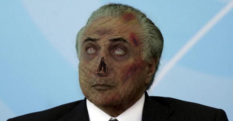 Resultado de imagem para presidente-zumbi