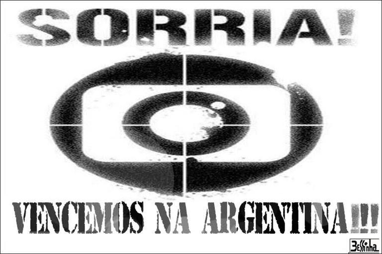 bessinha globo vence na argentina