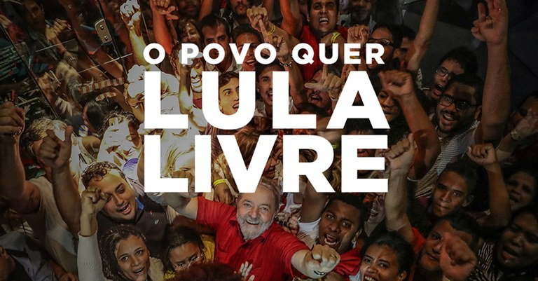 Image result for imagem lula livre e o povo